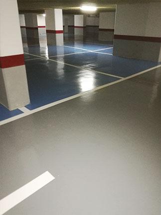 pavimento parking argelia - tudepa