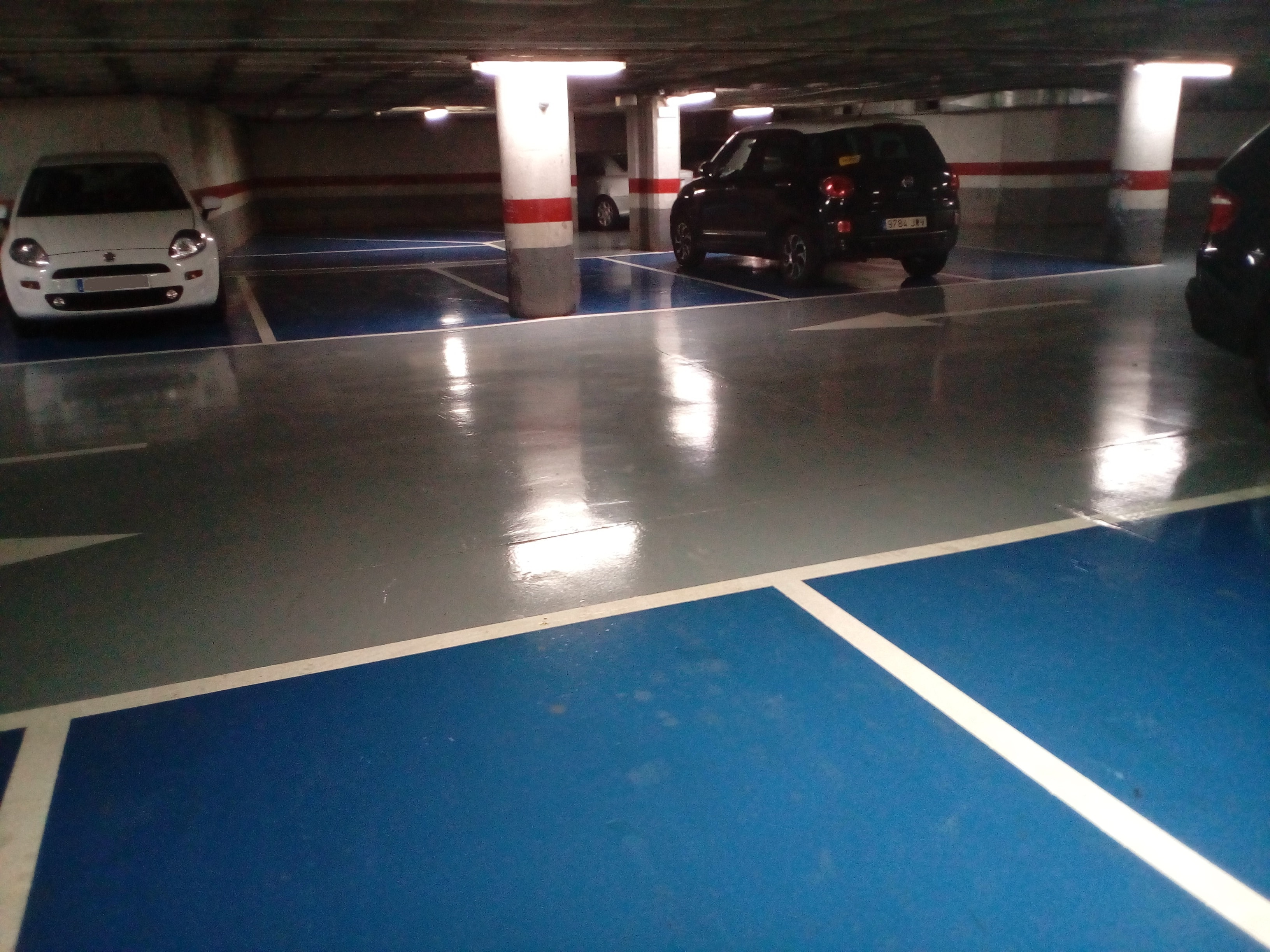 resina epoxi parking navas alicante - tudepa