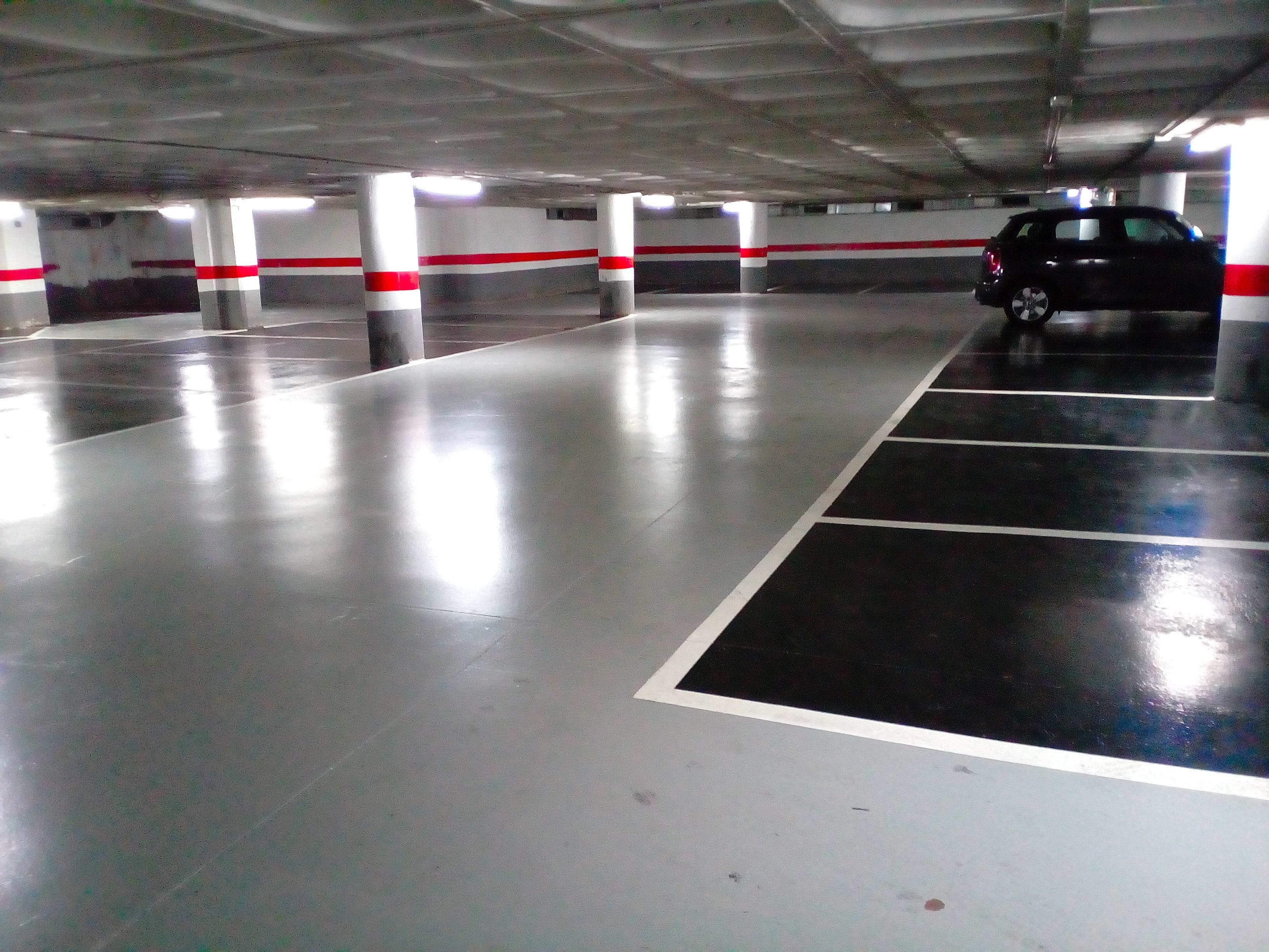 Pinturas de poliuretano para parking