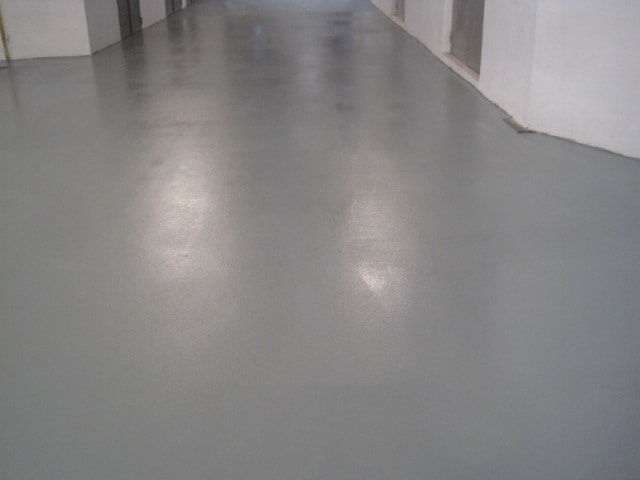 Suelo industrial gris