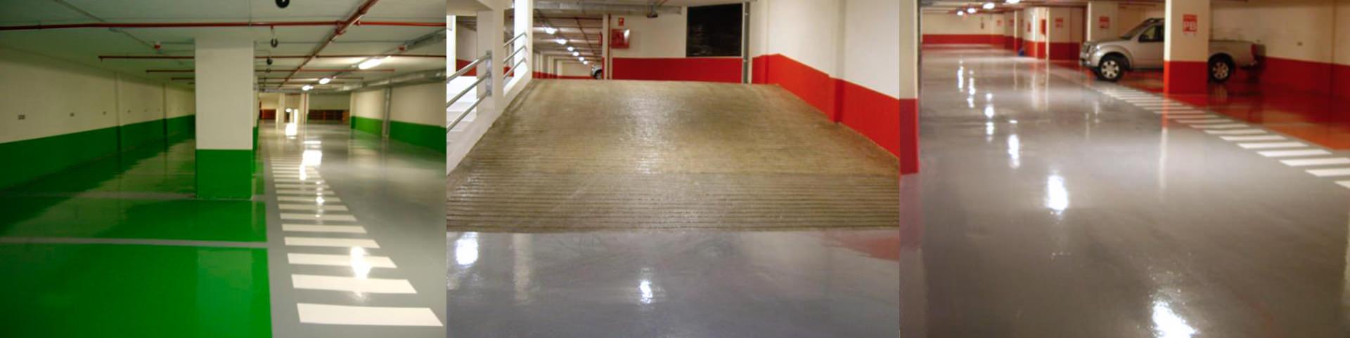 pavimento parking resina en alicante - tudepa