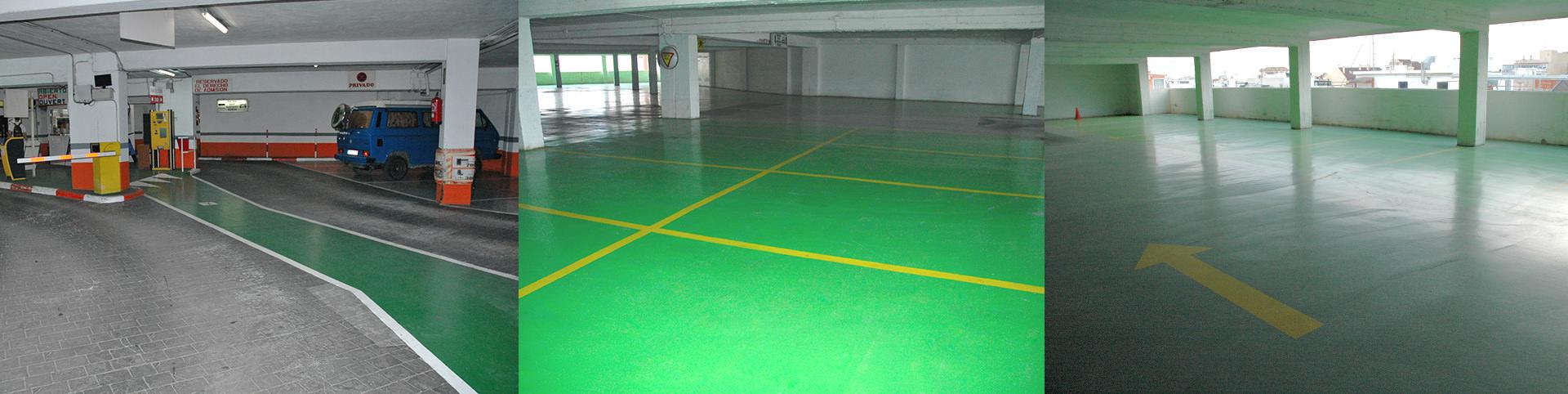 pavimento parking en ruzafa - tudepa