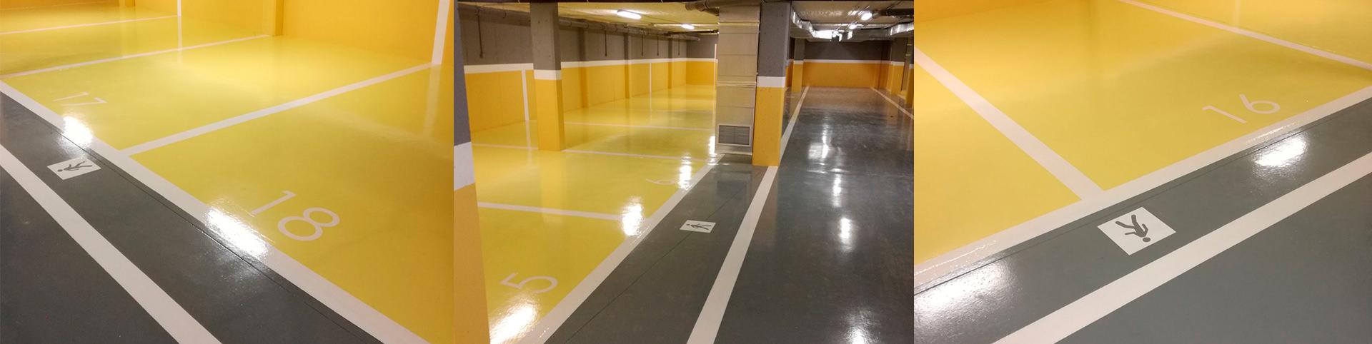 pavimento parking en javea - tudepa