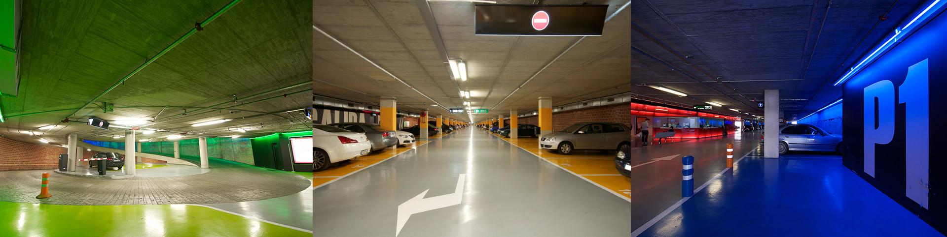 pavimento parking en avenida libertad - tudepa