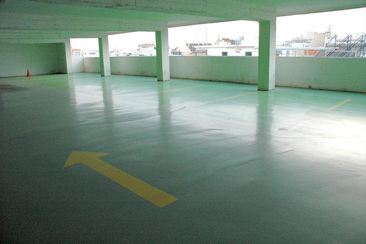 pavimento parking ruzafa - tudepa